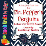 Mr. Popper's Penguins by Richard and Florence Atwater Book Unit