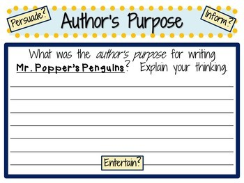 Mr. Popper's Penguins by Richard & Florence Atwater:  A Complete Novel Study!