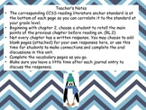 Mr. Popper's Penguins Common Core Reading Journal