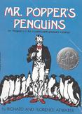 Mr. Poppers Penguins Complete Unit Assignments