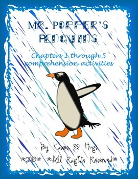 Mr. Popper's Penguins Comprehension Activities