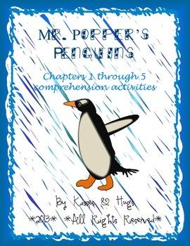 Mr. Popper's Penguins Comprehension Activities