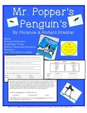 Mr.. Popper's Penguins Interactive Common Core Aligned Nov