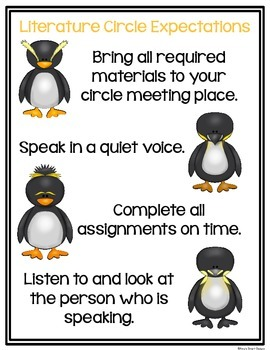 Mr. Popper's Penguins Literature Circle Unit