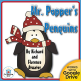Mr. Popper's Penguins Novel Study Book Unit