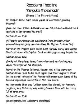 Mr. Popper's Penguins Readers Theater
