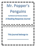 Mr. Popper's Penguins Reading Response Journal