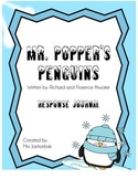 Mr. Popper's Penguins Response to Literature Journal