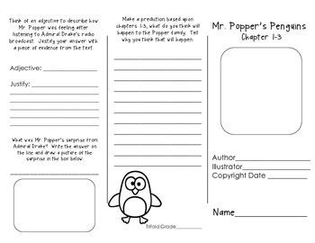 Mr. Popper's Penguins Trifold Set