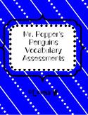 Mr. Popper's Penguins Vocabulary