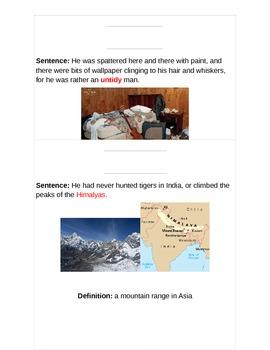 Mr. Popper's Penguins Vocabulary Chapter 1-2