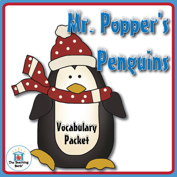 Mr. Popper's Penguins Vocabulary Packet