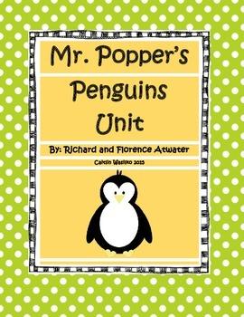 Mr. Popper's Penguins WHOLE Unit