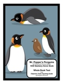 Mr. Popper's Penguins    Whole Book Test