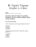 Mr. Popper's Penguins chapter 1-3 quiz