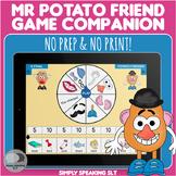 Mr Potato Game Companion - No Print & No Prep - For Speech & Language