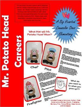 Mr. Potato Head Career Awareness and Exploration; Elementary; Community Helpers