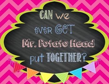 Mr. Potato Head Class Reward