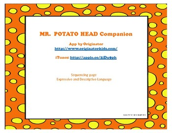 Mr. Potato Head Companion