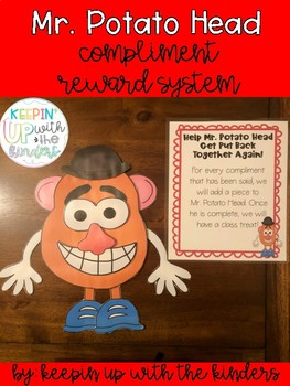 Mr. Potato Head Compliment Reward System