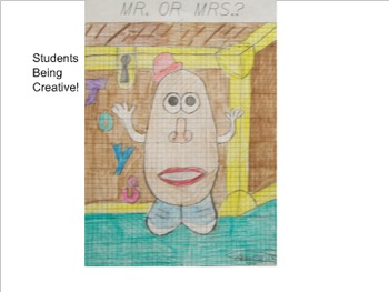 Coordinate Plane Pictures (Mr. or Mrs. Potato Head)
