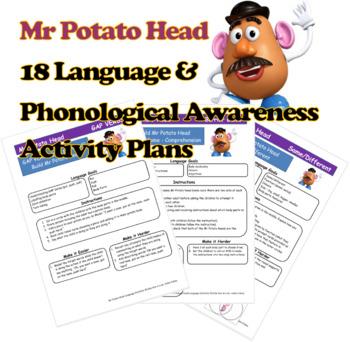 Mr Potato Head - Language and PA Activity Plans