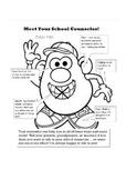 Mr. Potato Parts Meet the Counselor Handout