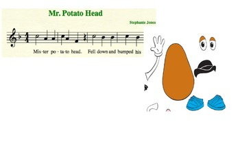 Mr Potato Head Music Smartboard
