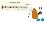 Mr Potato Head Music Smartboard