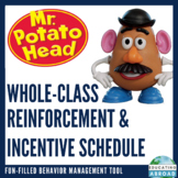 Mr Potato Head Whole-Class Reinforcement/ Incentive Schedule {NO PREP}