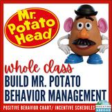 Mr Potato Head Whole-Class Reinforcement/ Incentive Schedule {NO PREP}