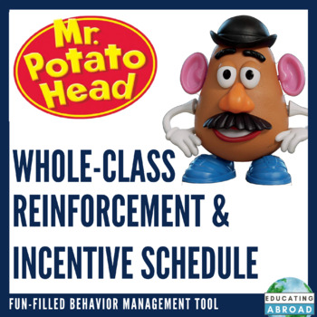 Mr Potato Head Whole-Class Reinforceemt/ Incentive Schedule