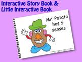 Mr. Potato has 5 senses INTERACTIVE STORY BOOK & Little In