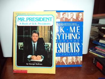 Mr. President Presidents  0-590-46540-6   0-380-76426-1 (set of 2)