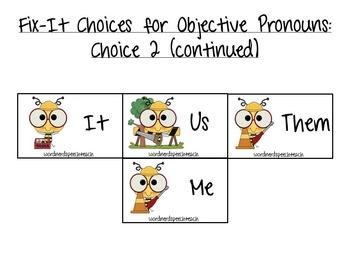 Mr. (Pronoun) Fix-It!