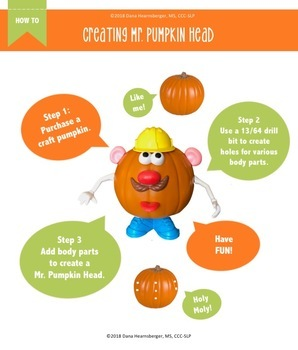 Mr. Pumpkin Head - Speech + Language