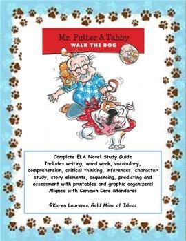 Mr. Putter & Tabby Walk the Dog ELA Reading Novel Study Guide