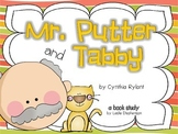 Mr. Putter and Tabby - A Book Study