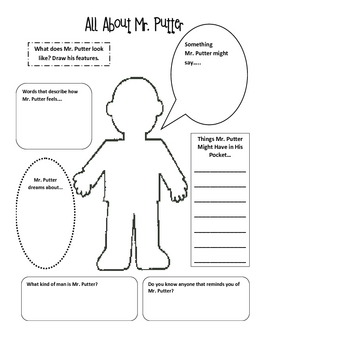 Mr Putter And Tabby Activities And Printables For Harcourt By