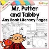 Mr. Putter and Tabby Any Book Literacy Pages for Distance