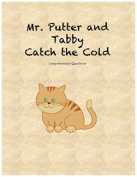 Mr. Putter and Tabby Catch the Cold comprehension questions