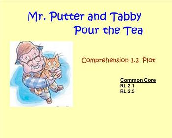Mr. Putter and Tabby Comprehension Plot SMART Notebook