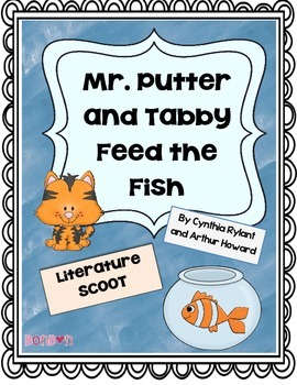 Mr. Putter and Tabby Feed the Fish - Literature Scoot