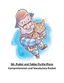 Mr. Putter and Tabby Fly the Plane Comprehension and Vocabulary Packet