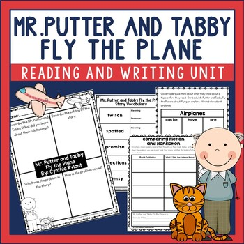 Mr. Putter and Tabby Fly the Plane Guided Reading Unit by