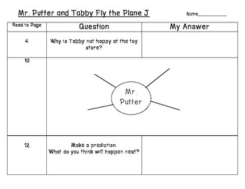 Mr. Putter and Tabby Fly the Plane - Guided Reading for Growing Readers