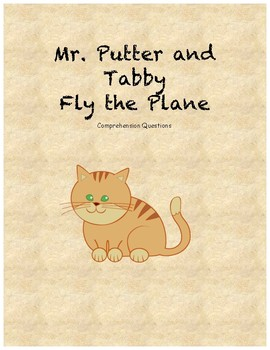 Mr. Putter and Tabby Fly the Plane comprehension questions