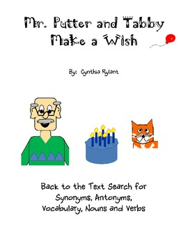 Mr. Putter and Tabby Make a Wish Back to Text Search