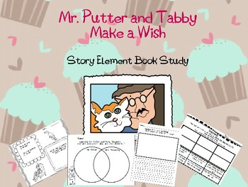 Mr. Putter and Tabby Make a Wish Book Study