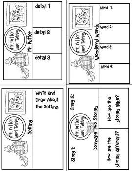 Mr. Putter and Tabby (Mini Book Companion with paired nonfictoin activities)